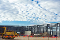 Industrial construction site Royalty Free Stock Photography