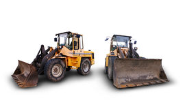 Industrial construction vehicles Stock Photo