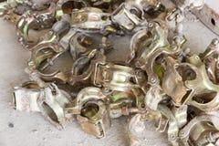 Scaffolding clamps Stock Photos