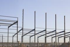 An industrial constructive site Stock Photos