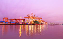 Industrial Container Cargo Stock Images