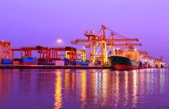 Industrial Container Cargo freight ship Stock Photos