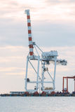 Industrial Container Cargo freight ship Royalty Free Stock Photos