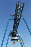 Industrial container crane. Near port in Friesland (Holland Stock Photos