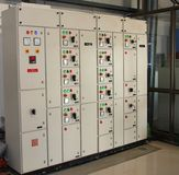 Industrial control Panel/board Stock Image