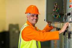 Industrial control box Stock Images