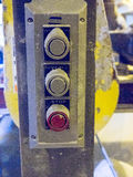 Industrial Control Buttons Royalty Free Stock Photo
