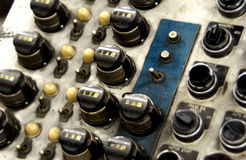 Industrial control panel Royalty Free Stock Images