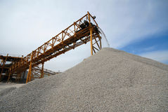 Industrial conveyor Royalty Free Stock Images