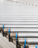 Industrial conveyor belt Closeup Stock Photography