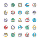 Industrial Cool Vector Icons 1 Stock Photos