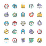 Industrial Cool Vector Icons 2 Stock Photo