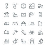 Industrial Cool Vector Icons 4 Royalty Free Stock Photo