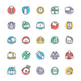 Industrial Cool Vector Icons 4 Royalty Free Stock Photography