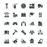 Industrial Cool Vector Icons 4 Royalty Free Stock Images