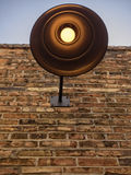 Industrial Copper Light Fixture Royalty Free Stock Photos