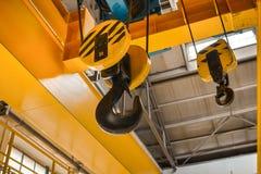 Industrial crain closeup photo Stock Photos