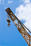 Industrial crane Stock Images