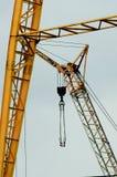 Industrial crane closeup Stock Images