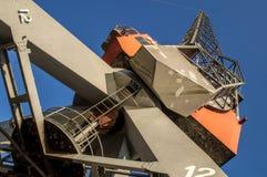 Industrial crane Stock Photography