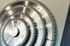 Industrial Cutters Royalty Free Stock Photography