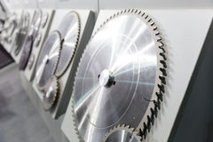 Industrial cutters Stock Image