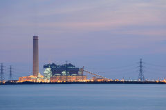 Industrial dawn Stock Image