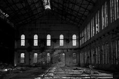 Industrial decay #05. An industrial decay in Italy Royalty Free Stock Photo