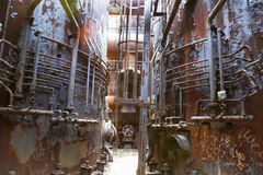 Industrial decay Stock Image