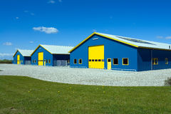 Free Industrial Delivery Building Royalty Free Stock Photography - 20559337