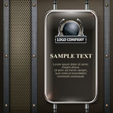 Industrial design banner Royalty Free Stock Photo