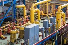 Industrial design factory floor Stock Images