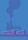 Industrial Design Layout Template Royalty Free Stock Photos