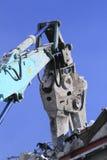 Industrial desmonte, destruição mecânica Fotografia de Stock Royalty Free
