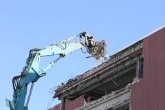 Industrial desmonte, destruição mecânica Imagens de Stock