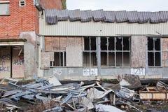 Industrial desolation UK Stock Photo