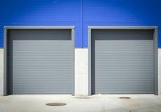 Industrial Despatch Door Stock Image