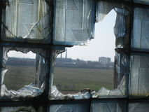 Industrial devastation Stock Image
