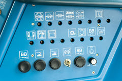 Industrial device control panel Stock Images