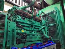 Industrial diesel power generator. royalty free stock image