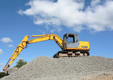 Industrial Digger Royalty Free Stock Image