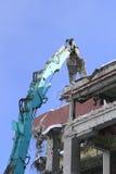 Industrial dismantle, mechanical destruction Royalty Free Stock Image
