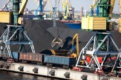 Industrial dock Stock Photo