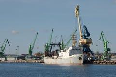 Industrial dock Stock Image
