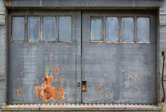 Industrial door background Royalty Free Stock Photography