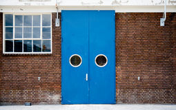 Industrial door Stock Image