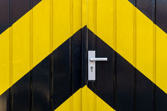 Industrial door Stock Image