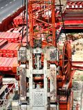 Industrial Drilling Machine Stock Images