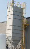 Industrial dust collector. At a manufacturing plant Stock Photos