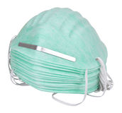 Industrial Dust Face Masks Stock Photo